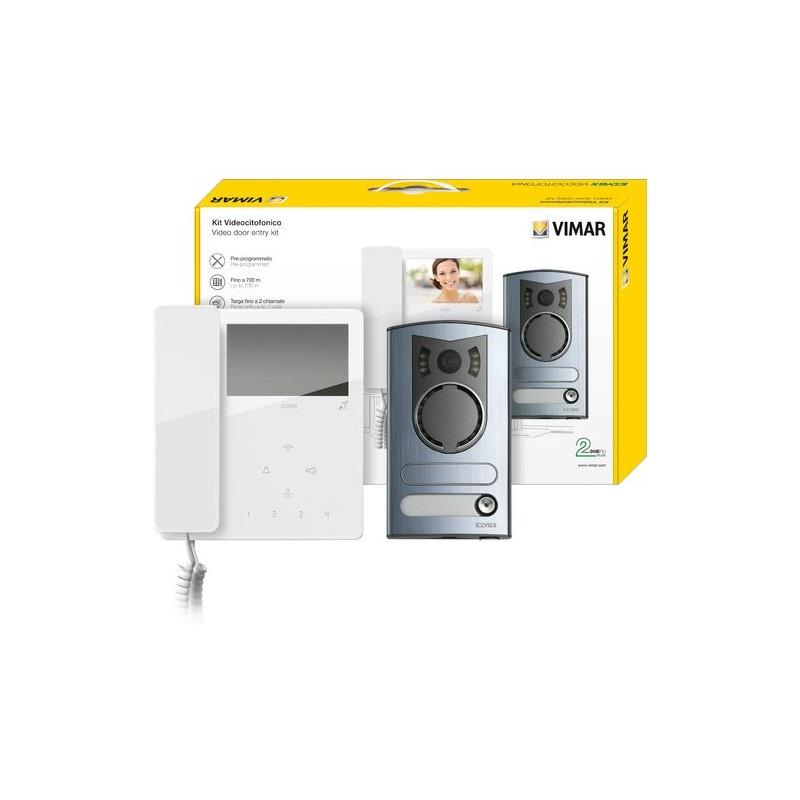 Vimar 7549 m kit videocitofono a colori 2 fili - Interruttori elettrici vimar ...