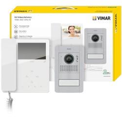 ELVOX K7549.01 - Kit videocitofonico monofamiliare Due Fili Plus