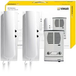 VIMAR 885E - Kit citofonico per impianto bifamiliare 4+2