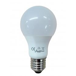 Poliplast 500768W - Lampada LED Goccia 9W 800Lm E27 luce calda A+