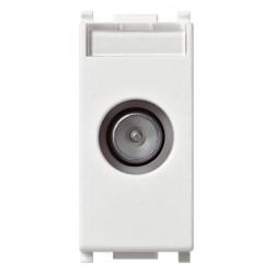 Vimar Plana - 14300.10 - Presa TV-RD-SAT passante bianco