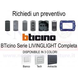 Bticino Livinglight - PREVENTIVO supporti placche interruttori prese accessori