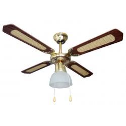 CFG EV028 Antigua -  Ventilatore a soffitto con illuminazione