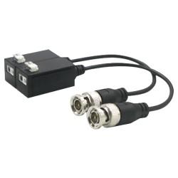 Visiotech BA612P-HAC - Ricetrasmettitore passivo SAFIRE per video con cavi intrecciati