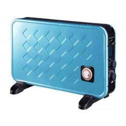CFG E389 - Termoconvettore Ventilato 2000W Con Timer Blu