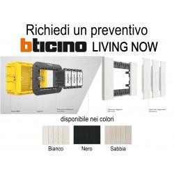 BTicino Living Now - PREVENTIVO supporti placche interruttori prese accessori
