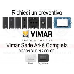 Vimar Arkè - PREVENTIVO 19613 19001 19008 19005 19203 19210 19041