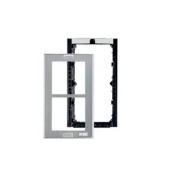 Urmet 1148/62 - Telaio porta moduli con cornice per 2 moduli