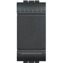 Bticino Livinglight - L4001N - Interruttore unipolare 16A 250V Antracite