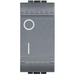 Bticino Livinglight - L4002N - Interruttore bipolare 16A 250V Antracite