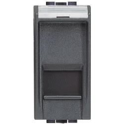 Bticino Livinglight - L4279C5E - Connettore dati RJ45 5E UTP Antracite