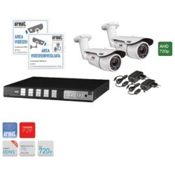 Urmet 1093/KHD4N - Kit TVCC con DVR serie viideosmart 4 canali