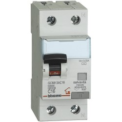 Bticino BTDIN - GC8813AC16 - Interruttore Magnetotermico Differenziale 16A