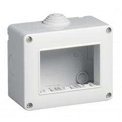 Vimar - 14803 - Contenitore da parete IP40, 3 moduli Eikon, Arké e Plana