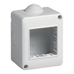 Vimar - 14802 - Contenitore da parete IP40, 2 moduli Eikon, Arké e Plana