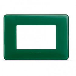 Bticino Matix - AM4803CVS - Placca 3 moduli - colore smeraldo