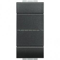 Bticino Livinglight - L4051N - Interruttore 1P 10AX 250V assiale antracite