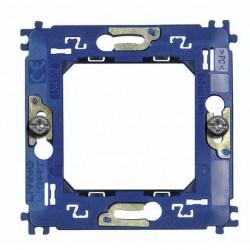 Bticino Livinglight - LN4702 - Supporto per placche tonde e quadre fissaggio con viti 2 moduli