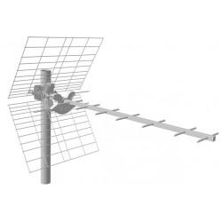Fracarro 213103 - Tau LTE KILLER Antenna Yagi 7 elementi UHF E21-E60
