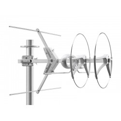 Fracarro 213203 - SIGMA V2 HD Antenna Yagi 2 elementi VHF banda III E5-E12