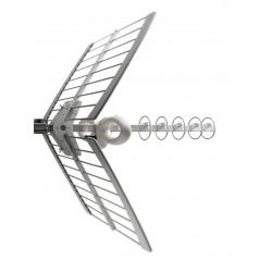 Fracarro 213201 - Sigma 6HD Antenna Yagi 6 elementi UHF E21-E69