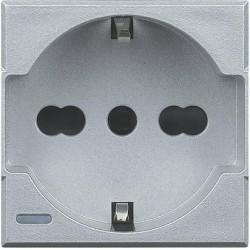 Bticino Axolute - HC4140/16 - Presa 2P+T 16A 250 V std tedesco/italiano